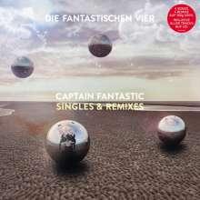 """Die Fantastischen Vier: Captain Fantastic Singles & Remixes (180g), 1 Single 12"""" und 1 CD"""