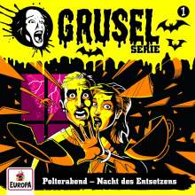 Gruselserie 01. Polterabend - Nacht des Entsetzens, CD