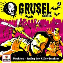 Gruselserie 03. Moskitos - Anflug der Killer-Insekten, CD