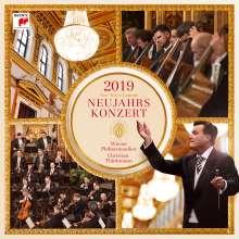 Neujahrskonzert 2019 der Wiener Philharmoniker (180g), 3 LPs