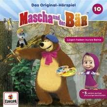 Mascha und der Bär 10. Lügen haben kurze Beine, CD