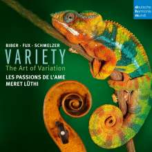Les Passions de l'Ame - Variety (The Art of Variation), CD