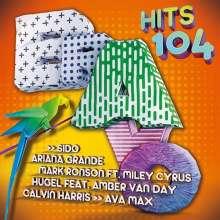 Bravo Hits 104, 2 CDs