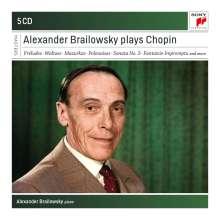 Alexander Brailowsky plays Chopin (American Columbia Recordings), 5 CDs