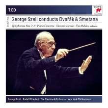 George Szell conducts Dvorak & Smetana, 7 CDs