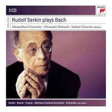 Rudolf Serkin plays Bach, 3 CDs