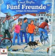 Fünf Freunde (131) - verfolgen die Fahrraddiebe, CD
