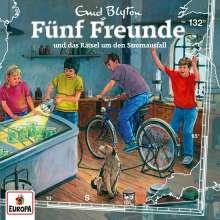 Fünf Freunde (132) - und das Rätsel um den Stromausfall, CD