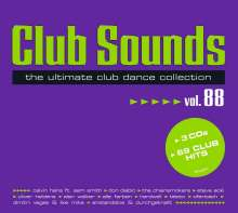 Club Sounds Vol. 88, 3 CDs
