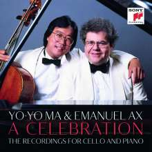 Yo-Yo Ma & Emanuel Ax - A Celebration (The Recordings for Cello and Piano), 21 CDs