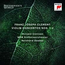 Franz Clement (1780-1842): Violinkonzerte Nr.1 D-Dur & Nr.2 d-moll, CD