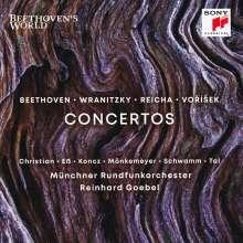 Jan Hugo Vorisek (1791-1825): Grand Rondeau op.25 für Klaviertrio & Orchester, CD
