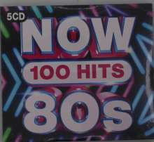 Now 100 Hits 80s, 5 CDs