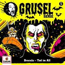 Gruselserie 05. Dracula - Tod im All, CD