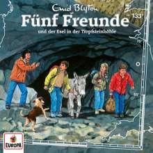 Fünf Freunde (133) - Fünf Freunde und der Esel in der Tropfsteinhöhle, CD