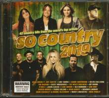 So Country 2019, 2 CDs