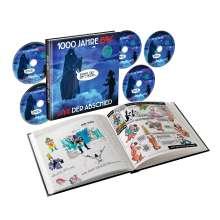 Erste Allgemeine Verunsicherung (EAV): 1000 Jahre EAV Live - Der Abschied (Limitierte Buch-Edition), 5 CDs
