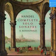 Georg Friedrich Händel (1685-1759): Sämtliche Solosonaten, 4 CDs