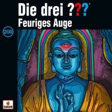 Die drei ??? (Folge 200)  - Feuriges Auge (Limited Deluxe-Edition), 4 CDs
