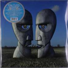 Pink Floyd: Division Bell (25th Anniversary) (180g) (Limited Edition) (Blue Vinyl), 2 LPs