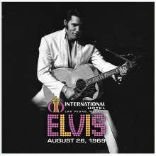 Elvis Presley: Live At The International Hotel, Las Vegas, NV August 26, 1969