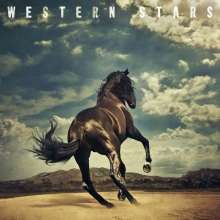 Bruce Springsteen: Western Stars (Limited Edition) (Clear Mixed With Blue Smoke Vinyl), 2 LPs
