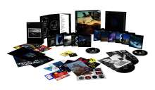"""Pink Floyd: The Best Of The Later Years 1987 - 2019, 5 CDs, 1 Blu-ray Audio, 5 Blu-ray Discs, 5 DVDs, 2 Singles 7"""" und 1 Buch"""