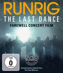 Runrig: The Last Dance - Farewell Concert Film, Blu-ray Disc