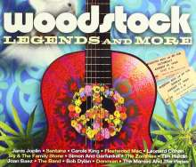 Woodstock Legends, 3 CDs