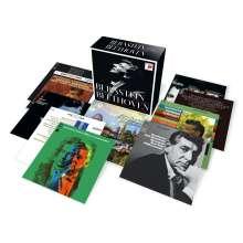 Ludwig van Beethoven (1770-1827): Bernstein conducts Beethoven (24 bit / 96 kHz-Remastering), 10 CDs