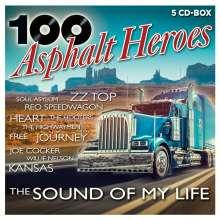 100 Hits: Asphalt Heroes, 5 CDs