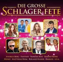 Die große Schlager-Fete, CD