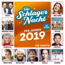 Die Schlagernacht des Jahres 2019 - Die Zweite, CD