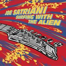 Joe Satriani: Surfing With The Alien (Limited Deluxe Edition) (LP 1: Red Vinyl, LP 2: Yellow Vinyl), 2 LPs