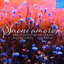 Duo Gioco di Salterio - Suoni amorosi (Musik für Hackbrett), CD