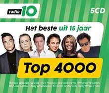 Radio 10 Top 4000: Het Beste Uit 15 Jaar (2019), 5 CDs
