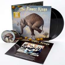 The Flower Kings: Waiting For Miracles, 4 LPs