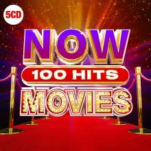Filmmusik: Now 100 Hits Movies, 5 CDs