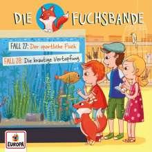 Die Fuchsbande (14.) Fall 27: Der sportliche Fisch / Fall 28: Die krautige Vertopfung, CD