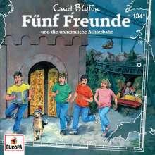 Fünf Freunde (134) - und die unheimliche Achterbahn, CD