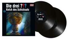 Die drei ???: Die drei ??? (Folge 208) - Kelch des Schicksals (180g) (Limited Edition), 2 LPs