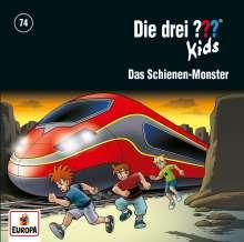 Die drei ??? Kids 74: Das Schienen-Monster, CD