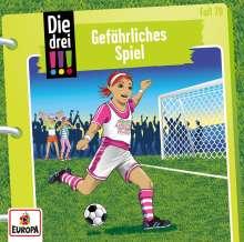 Kirsten Vogel: Die drei !!! 70: Gefährliches Spiel, CD