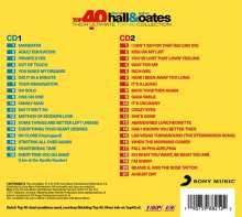 Daryl Hall & John Oates: Top 40, 2 CDs
