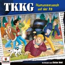 TKKG 214. Diamantenrausch auf der A9, CD