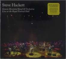 Steve Hackett (geb. 1950): Genesis Revisited Band & Orchestra: Live, 2 CDs und 1 Blu-ray Disc