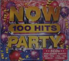 Now 100 Hits Party, 5 CDs
