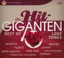 Die Hit Giganten - Best Of Lovesongs, 3 CDs