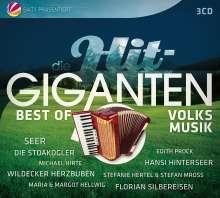 Die Hit-Giganten: Best Of Volksmusik, 3 CDs