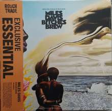 Miles Davis (1926-1991): Bitches Brew (Essential Exclusive ) (Limited Edition) (Blue/Red Splatter Vinyl), 2 LPs